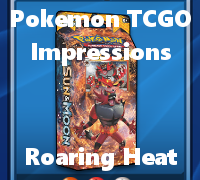The Roaring Heat theme deck is all about aggression and high offense.