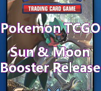 Sun and Moon booster sets contain Pokemon from the Alola region.